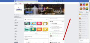 Facebook Business Page News Feed