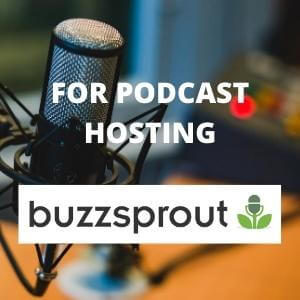 buzzsprout for podcast hosting