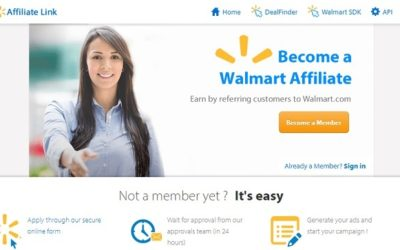 Walmart Affiliate Program – Get The Details Now