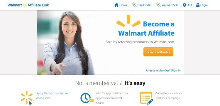 Walmart Affiliate Program – Get The Details Now
