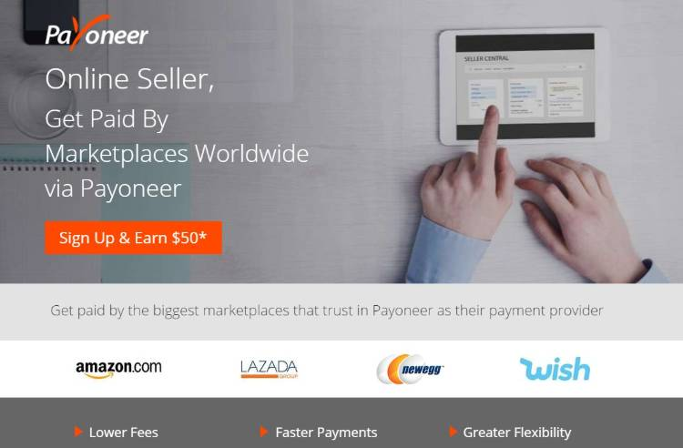 pay your VA with payoneer