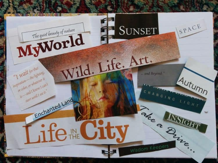 A Checklist For Your Vision Board