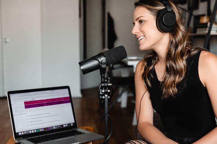Start a podcast.how to make $10,000 a month