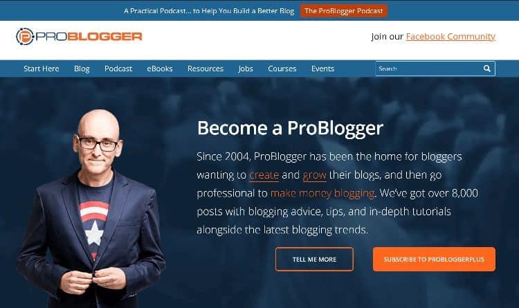 ProBloggerfreelance writing websites