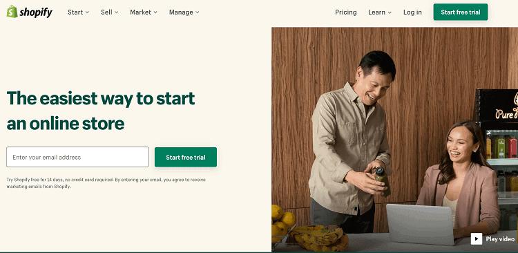 Shopify Squarespace Alternatives