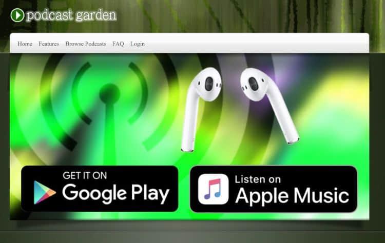 Podcast Garden