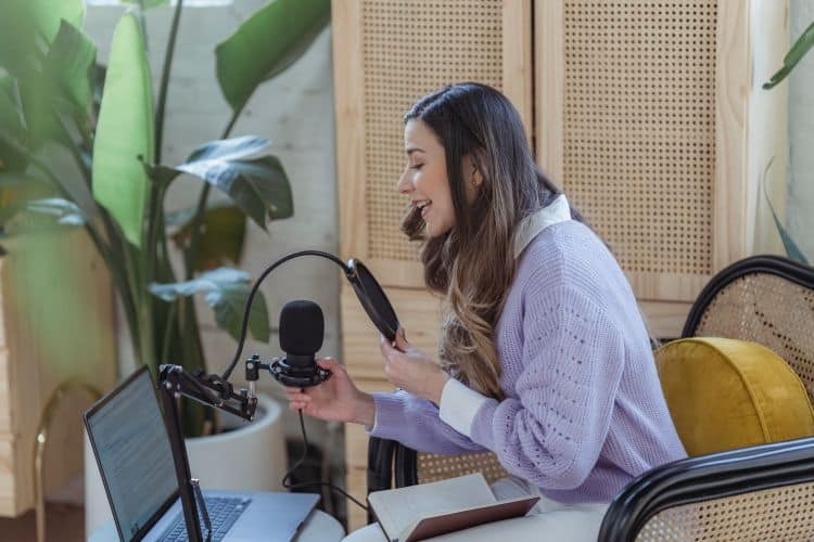 podcasting for business - Podcasts can serve as social media content.